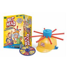 Wholesale Water Challenges - Wholesale- 2017 Fun Kids Wet Head Cap Challenge Nat Hoofd Water Roulette Game Kid Speelgoed Geweldig Spel Gags Bananasplit Kuso Toys