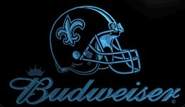 Wholesale Helmet Party - LS1984-b-New-Orleans-Saints-Helmet-Budweisers-Bar-Neon-LED-Light-Sign.jpg