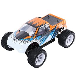 Wholesale Scale Rc Trucks - New Arrival HSP 94111 1   10 Scale 4WD 2.4GHz 70KMH RC Truck Bigfoot Off-road Vehicle with 3300KV Brush Motor for Children