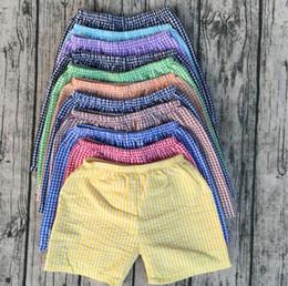 Wholesale Wholesale Shors - boys cotton seersucker shors breathable sport shorts cheap wholesale factory direct