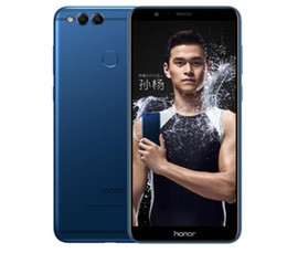 "Wholesale Screen 32 - Factory original huawei honor 7X 5.93""screen 4GLTE Android 7.0 HiSilicon Kirin 659 32 64 128 GB,4 GB RAM 3340 mAh battery"