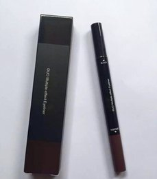 Wholesale Gel Shipping - Hot M liquid eyeliner Brown and Black 2in1 gel eyeliner DHL Free Shipping High Quality