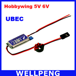 Wholesale Rf Shielding - 5V   6V HOBBYWING RC UBEC 3A Max 5A Lowest RF Noise BEC Full Shielding Antijamming Switching Regulator Hot Selling
