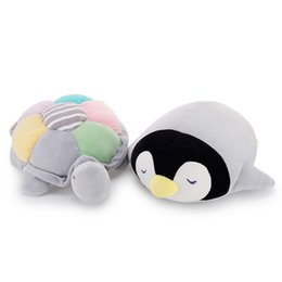 Wholesale Cute Penguin Plush Toys - Cute Soft Comfort Stuffed Plush Animals Toy Penguin Beanies Stuffed Doll Brinquedos Menina Birthday Gift Oyuncak Bebek 60G0212