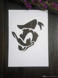 Wholesale Diy Painting Kids - Painting stencils for kids Masking template For Scrapbooking,cardmaking,DIY cards,wall and more- Donald Duck