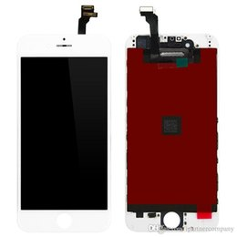 Wholesale Lcd Display Iphone Tools - For iPhone 6 lcd Screen Display With Digitizer Replacement Assembly No Dead Pixel LCD high quality with high tops glass and free tools