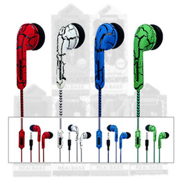 Wholesale newest smart phones - Newest In-Ear Headphone Fabric Nylon Earphone Stereo Music Headset With Volume Control For Smart Phone Tablet Samsung Mp3