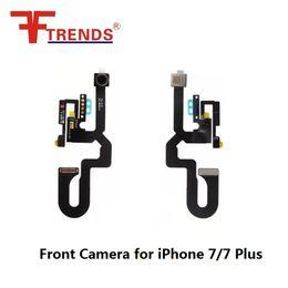 Wholesale Wholesale Spare Parts - New Original Front Camera Cam Ribbon Lens Flex Cable Spare Part Replacement kits for iPhone 7 7 Plus