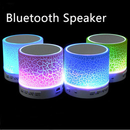 Wholesale Wholesale Sound Cards - Hot Sell New LED MINI Wireless Bluetooth Speaker TF USB Portable Music Sound Box