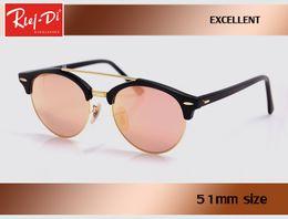 Wholesale Mix Masters - 2017 Rlei di HD uv400 Pink fashion women Sunglasses retro club Brand Men Sun glasses Coating Drive gafas De Sol master gradient eyeglass.