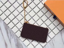Wholesale Wallet Short - Free Shipping! Key Pouch zip Wallet Coin Leather Wallets Women designer purse 62650