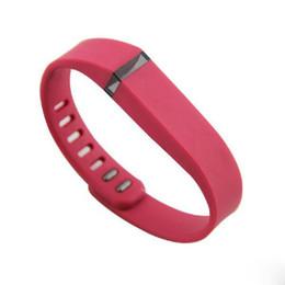 Sıcak Fitbit Flex Band Büyük Küçük Siyah Metal Klipsler ile Yedek Kauçuk TPU Bilek Kayışı Kablosuz Etkinlik Bilezikler Bileklik Ücretsiz DHL nereden fitit fleksi küçük bant tedarikçiler