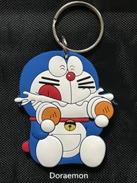 Wholesale Chinese Model Men - Anime Cartoon Doraemon Figure Pendant Keychain Accessories, Doraemon Cosplay Chinese Zodiac PVC Action Figures Model Toys Dolls