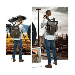 Wholesale Dslr Camera Bag Backpack - Wholesale- wholesale HOT NEW National Geographic NG A5290 Retro Canvas DSLR Camera Bag Backpack