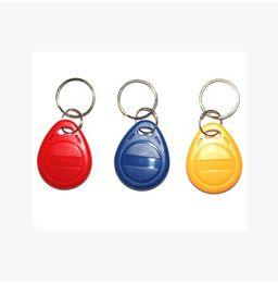 Wholesale Card Id Door Lock - Wholesale- 5200 ID access card key ring rewritable ID card intelligent ID induction door lock card attendance