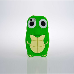 Wholesale Turtles Case - 3D Cute Turtles Cartoon back phone case cover for Samsung with favorable price Soft Silicone phone shell