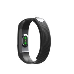 Wholesale Wholesale Black Window Alarm - ID115Hr Smart Wristbands Heart Rate Version Heart Rate Monitoring Incoming Calls Push Pedometer Alarm Reminder