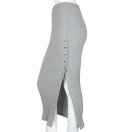 Wholesale Straight Long Skirts Women - 2017 women summer skirts vintage skirt high waist long warm pencil skirt saia colegial jupe faldas largas bohemian D1164