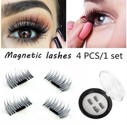 Wholesale Hair Suction - 1PCS2017 latest magnet false eyelash suction stone mascara magnetic magnetic buckle without glue three-dimensional multi-layer natural thick