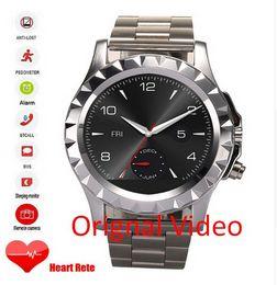 Wholesale German Outdoor Wear - Smart Watch T2 Heart rate Bluetooth Camera waterproof windows IOS Andorid Passometer Sedentary reminder wear wristwatch Smart watch