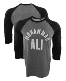 Wholesale Men Baseball Tee S - Wholesale- 2016 New Brand T-Shirt Muhammad Ali All Stars Raglan T shirt MMA Fighting Long Sleeve Baseball Jersey Tee Shirt USA Size tshirt