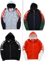 Wholesale Cheap Winter Fashion Jackets - cheap winter flame Abloh Virgil hoodies men women Designer hoodie sweatshirt new harajuku streetwear hip hop traser fleece jackets thick