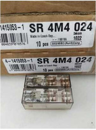 Wholesale Import Safety - Imported original TYCO SCHRACK safety relay, SR4M4024, 24VDC, 8A, 250VAC, three open and close