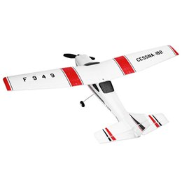 Wholesale Cessna Rc Rtf - Wholesale- Original RC Airplane Cessna 182 2.4G 3CH RC Aircraft Fixed-wing RTF Airplane Outdoor Toys Remote Control Plane Gifts WLtoys F949