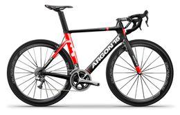 Wholesale Road Bike Carbon Ultegra - red black Argon 18 Diy Carbon Road Full Bike Complete Bike With Ultegra 5800 6800 Groupset wheelset