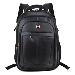 Wholesale Outdoor Nylons - Hot Sell Travel Backpack School Bag Computer Bag Waterproof Casual Outdoor Men Woman Student High Capacity Nylon Black Unisex QQ2141