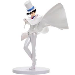Wholesale Kaito Kid Action Figure - 23cm Detective Conan Action Figure Kaito Kid PVC Anime Action Figure Detective Conan model