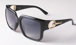 Wholesale Femme Mirror - Korean Oversized Square Sunglasses Women Men Luxury Brand Big Black Sun Glasses Mirror Shades lunette femme Oculos