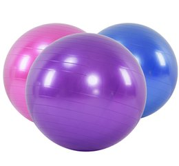 Wholesale Exercise Ball Anti Burst Yoga Ball Balance Ball for Pilates Yoga Stability Training and Physical Therapy Fitness Balls