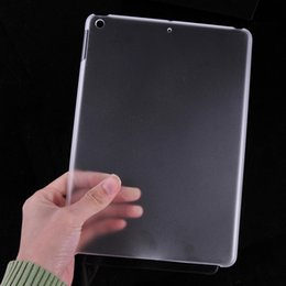 Wholesale Transparent Soft Back Case Ipad - Transparent Soft TPU Tablet PC Back Cover Case For Ipad Mini 1 2 3 ipad pro 9.7 Clear Shockproof Protective Tablet Case