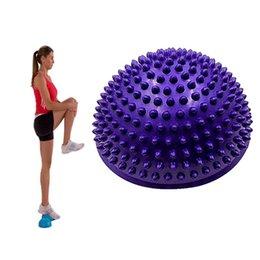 Palle gonfiabili del PVC di mezzo sfere di massaggio della sfera adatta di misura Esercitano lo stabilizzatore del addestratore PALESTRA che equilibra la sfera di Bosu di equilibratura di forma fisica da