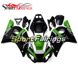 Wholesale Injection Yamaha R6 - Fairings For Yamaha YZF600 R6 YZF-R6 Year 1998 2002 98 99 00 01 02 ABS Motorcycle Fairing Kit Bodywork Motorbike Cowling Green Black Covers