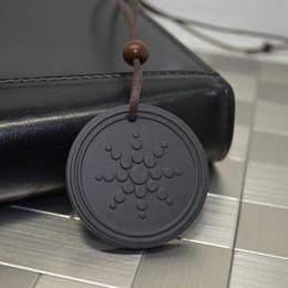 Wholesale Protection Necklaces - Wholesale-2015 NEW Quantum Pendant Necklace Scalar Orgon Energy neg ions EMF Protection D0724