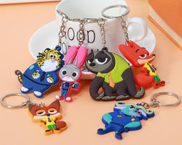 Wholesale Wholesale Marine Electronics - wholesale Cartoon Keychains Soft PVC Lover Keychains Phone Accessories Minions Marines Key Holder Key Chains Finder Souvenirs Gift