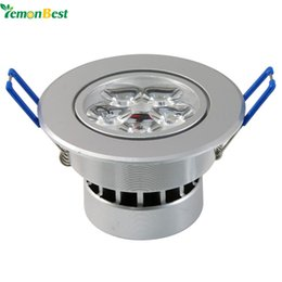 Wholesale Led Dimmable Downlight 5x3w - Wholesale- Dimmable 15w 5x3w LED Ceiling Lamp Warm White Cool White AC110V led recessed light spot downlight power New Design Epistar chip