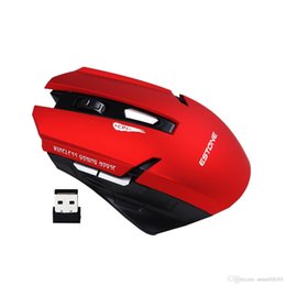 Wholesale Windows Vista Desktop - E-1700 Wireless Mouse 2.4Ghz Gaming Mouse For Desktop Tablet Laptop compatibility with Windows Vista