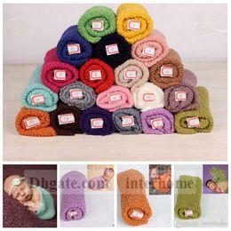 Wholesale Newborn Hammock Baby - Baby Cheesecloth Wrap Mohair Swaddle Hammocks Infant Swaddling Blankets Newborn Parisarc Bedding Sleepsacks Scarves Photography Props B1042