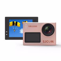 Wholesale sj sports - Original SJCAM SJ6 LEGEND Sports Action Camera WiFi 4K 24fps Ultra HD Waterproof 2.0 Touch Screen Remote DV Notavek 96660 SJ Cam