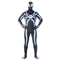 Wholesale Classic Spiderman Spandex Costume - Halloween Spiderman Sexy Costume Superhero Cosplay Elastic Jumpsuit Amazing Spiderman Spandex Zentai Suit