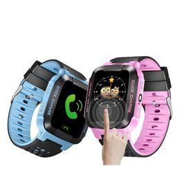 2019 nuevo reloj ruso Al por mayor- Kidizoom kids Smart Watch con GPS gps lbs localización pantalla táctil gps reloj Soporte Ruso Inglés PK Q90 / Q50 / Q100 / Q80 nuevo reloj ruso baratos