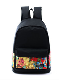 Wholesale Trend Travel School Bag - New fashion handbags backpack school bag students shoulder bag trend school wind travel bag Backpack wholesale and retail