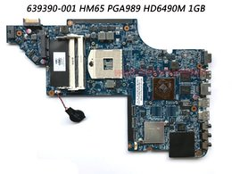 Wholesale intel ethernet pci - Classy Laptop Motherboard For HP Pavilion DV6-6000 Laptop with Chipset HM65 PGA989 HD6490M 1GB P N 639390-001 DDR3 100% Work