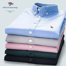 Wholesale Yellow Plaid Shirt Men - 2017 Designers Brand 100% Cotton Quality Striped Plaids Shirt Men Spring\Autumn Casual Shirts Checked Oxford Dress Shirt Camisa Masculina