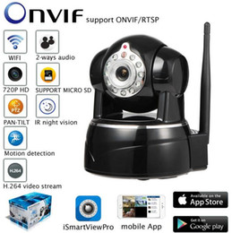Wholesale mobile baby monitor - 1.0MEGA IP Camera P2P Baby Monitor Surveillance Camera 720P HD WIFI Camera Infrared Night Vision Home Protection Mobile Remote