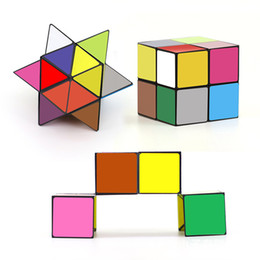 Wholesale Mini Cube Puzzle - Newest Colorful Luxury EDC Infinity Cube Mini For Stress Relief Fidget Anti Anxiety Stress Adult Children Kids Funny Toys Best Gift