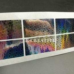 "Wholesale Sticker Security - 1000 Hologram Tamper Proof Warranty Void Label Sticker 1.57*0.79"" Security Seal"